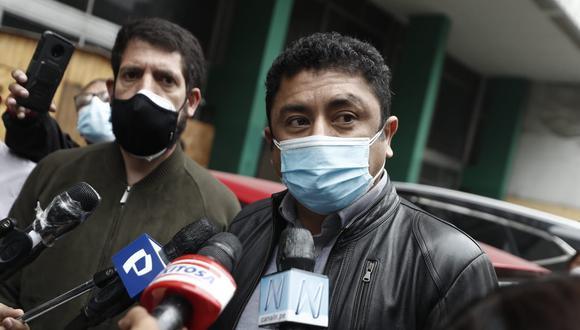 Guillermo Bermejo aseguró que desde Perú Libre siempre se han allanado a la justicia. Foto: César Campos / @photo.gec