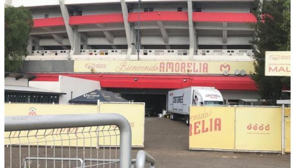 Monarcas Morelia se mudaría a jugar a Sinaloa. (Foto: Twitter de Eco del Quinceo)