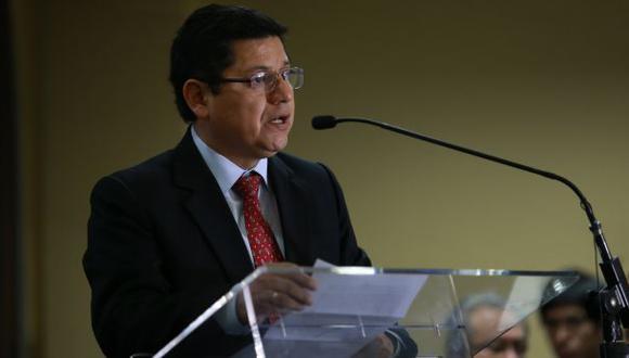 Eduardo Vega indicó que se necesita delimitar la vacancia presidencial por incapacidad moral permanente. (Foto: Lino Chipana/ El Comercio)