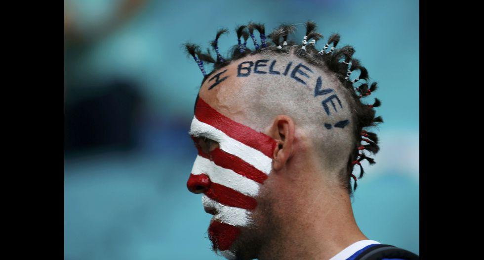 Bélgica vs. USA: 'Fellaini' y otras caras curiosas en Bahía - 5