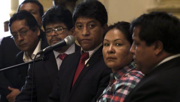 Gana Perú tiene actualmente 32 miembros. Por primera vez en este período, no presidirá la Mesa Directiva del Congreso. (Foto: El Comercio)