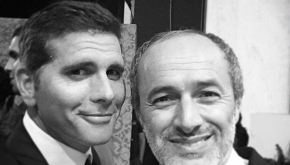 Christian Meier felicitó a Carlos Alcántara por sus 51 años