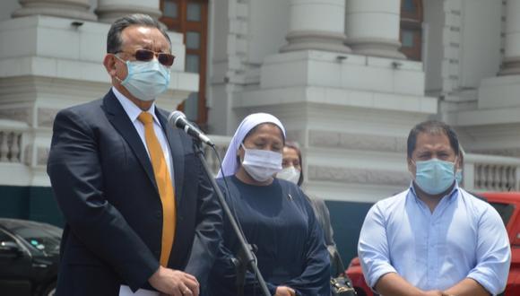Edgar Alarcón criticó actitud de Martín Vizcarra, quien se acogió al silencio ante la Comisión de Fiscalización (Foto: Difusión)