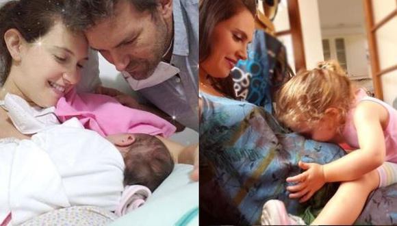 """Emilia Drago sobre encuentro entre su hija mayor y su hermanita: """"Fue un pequeño drama""""  (Foto: Instagram)"""