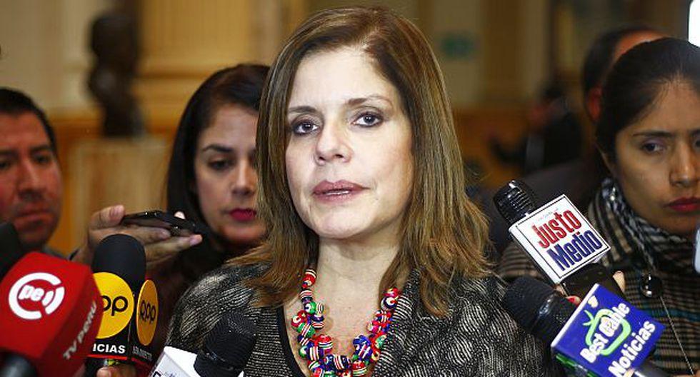 """Aráoz: Críticas de Salgado son parte de """"su agenda política"""""""