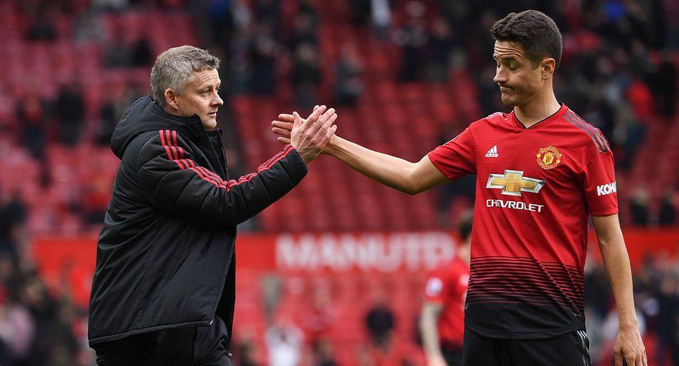 Ander Herrera dice adiós al Manchester United y se cree que firmará por el PSG. (Foto: AFP)