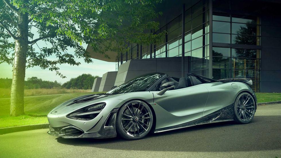 Luego de las modificaciones, el McLaren 720S Spider de Novitec acelera de 0 a 100 km/h en 2.7 segundos y alcanza una velocidad tope de 346 km/h. (Fotos: Novitec).