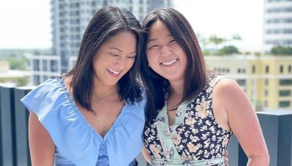 Hermanas gemelas separadas al nacer se reencuentran luego de 36 años gracias a prueba de ADN. (Foto: Good Morning America)