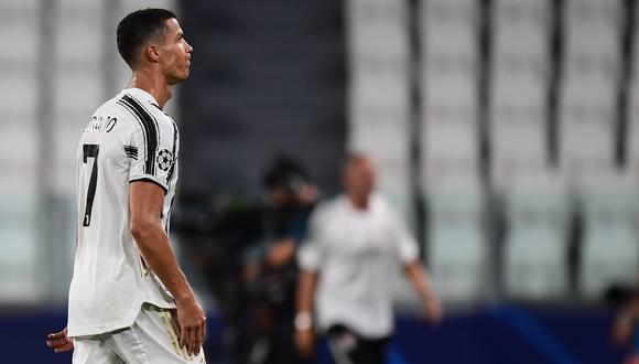 Cristiano Ronaldo anotó un doblete en el Juventus vs. Lyon. (Foto: AFP)