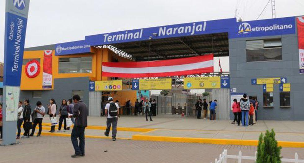 Metropolitano: WiFi gratis y cámaras de seguridad en Naranjal
