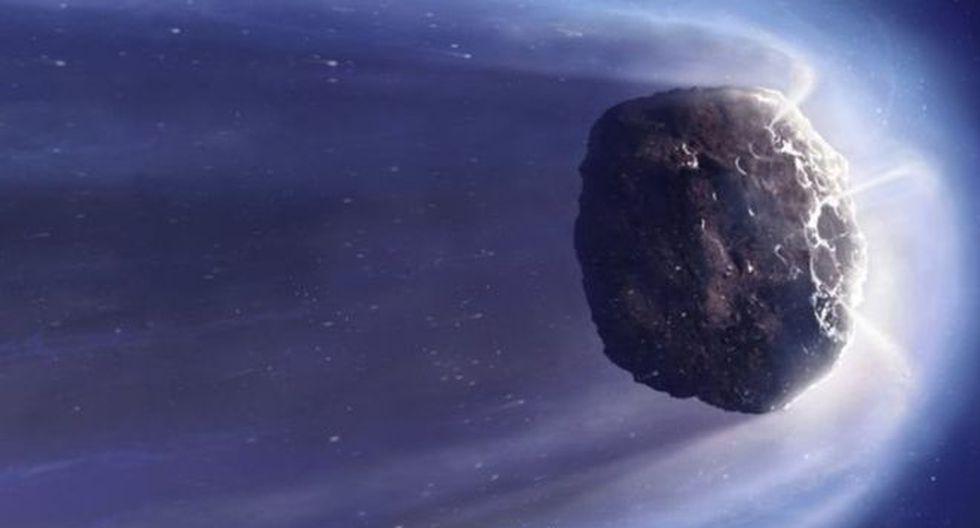 Ilustración de un cometa genérico. Los cometas son restos de materiales que dieron lugar a planetas gigantes y que nunca llegaron a incorporarse en dichos planetas. (Foto: Science Photo Library)