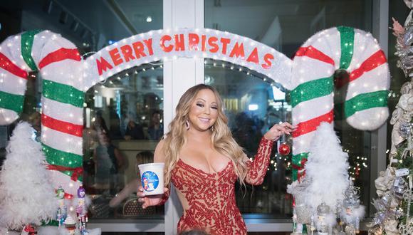 Mariah Carey es considerada la verdadera reina de la Navidad. (Foto: AFP)