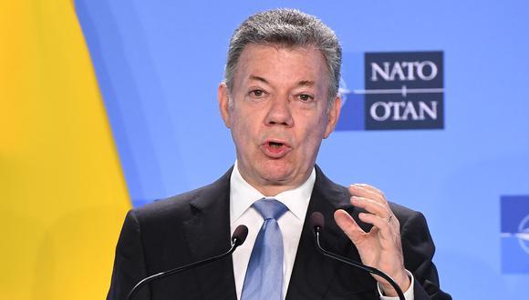 Colombia: Juan Manuel Santos será investigado por presunta financiación de Odebrecht. (AFP).