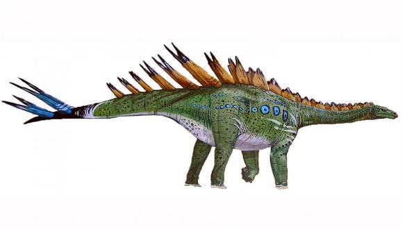 El estegosaurio es una especie herbívora que vivió en el Jurásico Superior. (Imagen: LNEG)