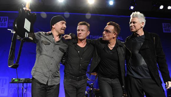 """U2 lanza versión visual del disco """"Songs of Innocence"""""""