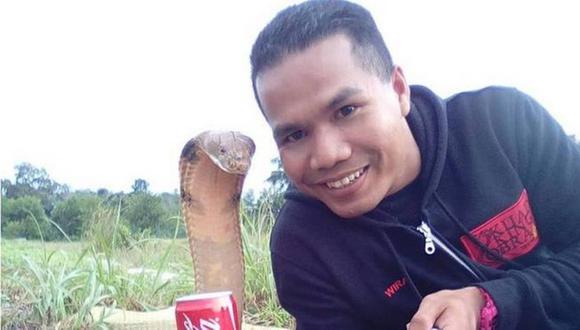 YouTube: Muere el famoso domador de serpientes Abu Zarin tras recibir mordida de cobra