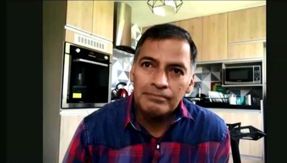 Pold Gastelo relató los terribles momentos que pasó cuando sus hermanos se enfermaron de COVID-19 y él sufrió una crisis respiratoria que lo llevó a UCI. (Captura de pantalla / América TV).