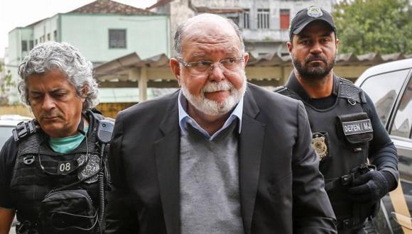 El ex presidente de OAS cumple condena en su país en el marco del caso Lava Jato. (Foto archivo El Comercio)