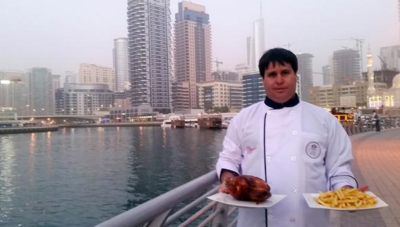 La historia de cómo el pollo a la brasa llegó a Dubái