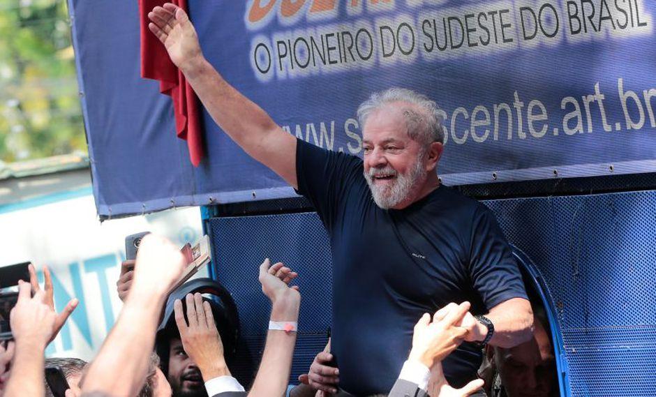 Brasil: Lula es proclamado candidato presidencial pese a estar en prisión. (Foto: Reuters)