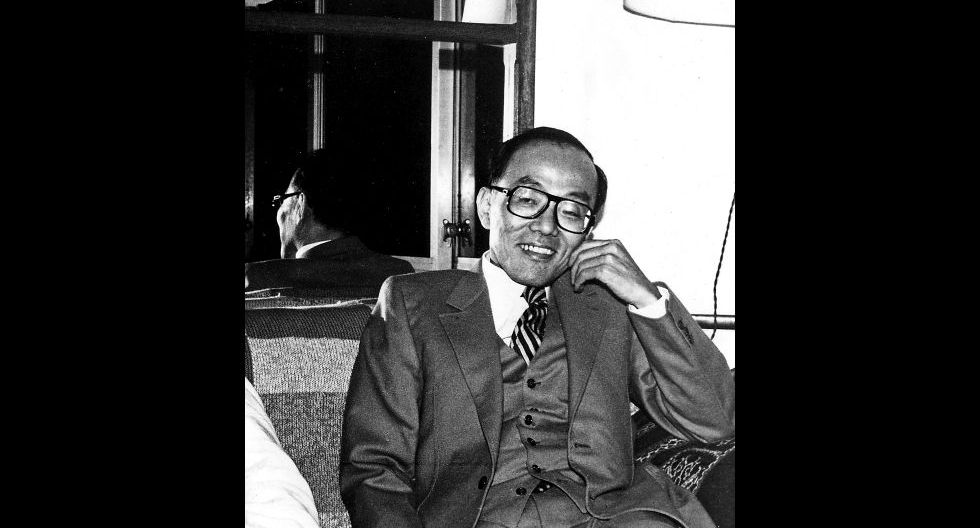 Shūsaku Endō (Tokyo 1923) estudió Literatura Francesa en la Universidad de Lyon desde 1950 hasta 1953. [Archivo]