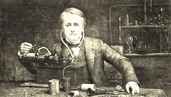 Durante 120 años se creyó que Edison había sido el primero en grabar la voz humana. (Imagen: Getty)
