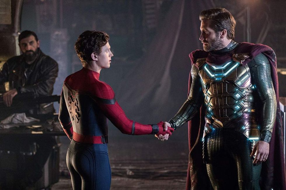 Mysterio no era quienes todos creían (Foto: Spider-Man: Far From Home / Marvel Studios / Sony Pictures)