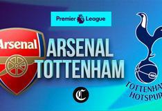 Arsenal vs. Tottenham en vivo: hora, TV y dónde ver el juego de Premier League