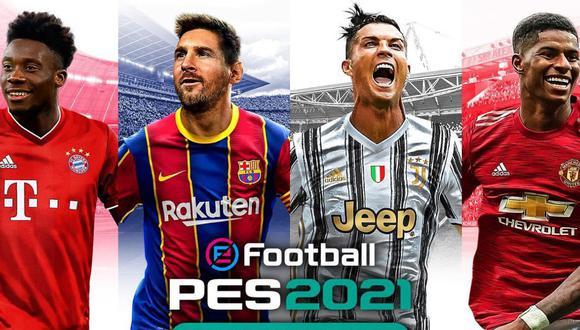 El nuevo juego de Pro Evolution Soccer saldrá en formato físico y digital este 15 de septiembre para PS4, Xbox One y PC. | Crédito: Konami.