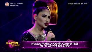 El Artista del Año: Disfruta de la última presentación de Pamela Franco