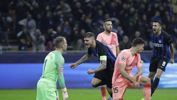 Barcelona igualó 1-1 ante Inter de Milán por la Champions League. (Foto: AP)