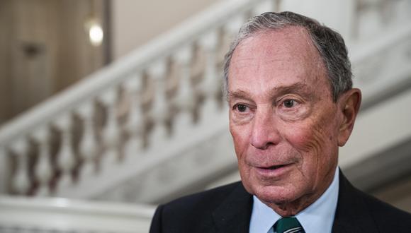 Michael Bloomberg piensa desde hace tiempo en desafiar a Donald Trump, otro multimillonario originario de Nueva York a quien llegó a elogiar cuando era alcalde. (Foto: EFE).