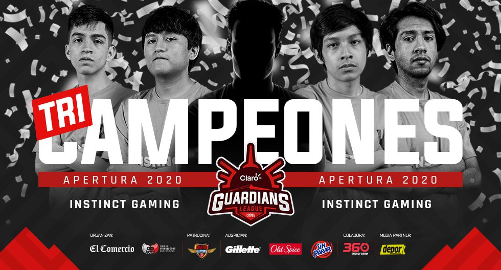 Instinct Gaming es el nuevo campeón de la Claro Guardians League. (Difusión)
