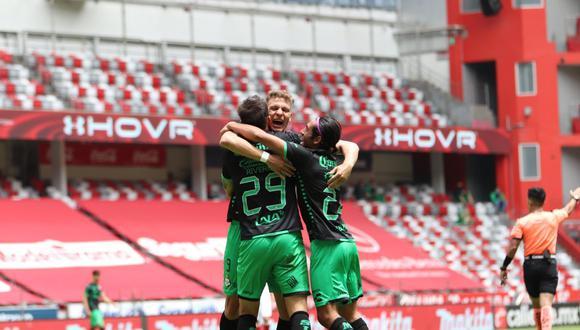 Santos Laguna sorprendió a Toluca de visita y se llevó los tres puntos por el Apertura 2020 de la Liga MX. (Foto: Santos)