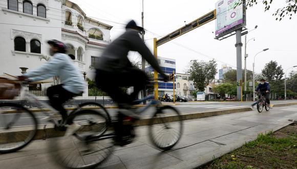 """""""En un año normal, entre 60% a 70% de la venta de bicicletas se concentra en la campaña navideña"""". (Foto: Fernando Sangama/ GEC)"""