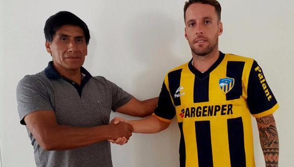 Pablo Lavandeira es nuevo jugador de Sport Rosario