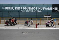 Aeropuerto Jorge Chávez registró movilización de más de 450.000 pasajeros entre julio y octubre