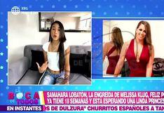Samahara Lobatón se reconcilia con Melissa Klug tras anunciar su embarazo