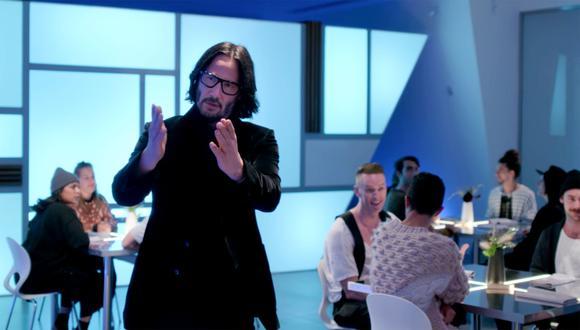 """El actor que alcanzó la fama internacional con su papel de Neo en la cinta """"Matrix"""" de 1999. (Fotos: Netflix)"""