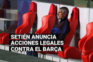 Quique Setién interpondrá acciones legales en contra del Barcelona