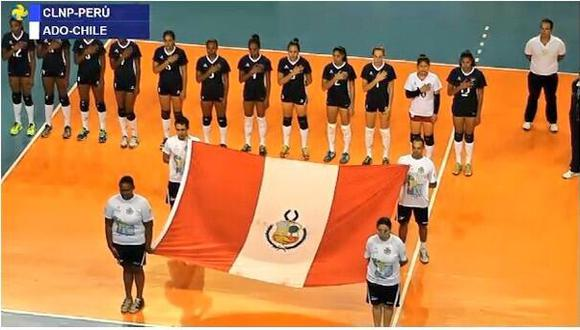 VÓLEY: Perú debutó y venció a Chile en Sudamericano de Clubes