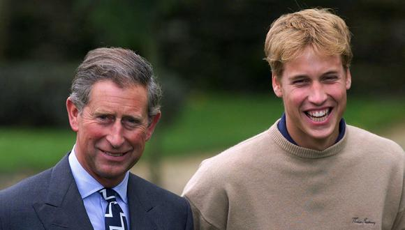 Carlos de Gales y Guillermo de Cambridge. (Foto: AFP)
