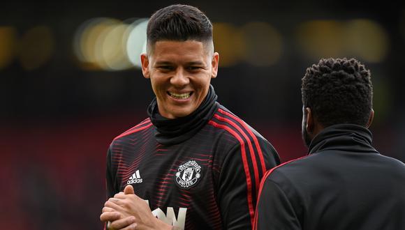 Marcos Rojo tiene contrato con Manchester United hasta junio de 2021 (Foto: AFP)