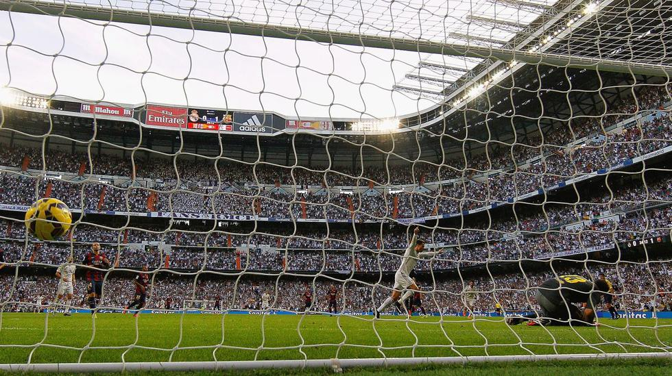 Las postales de los tres goles de Real Madrid ante Barcelona - 2
