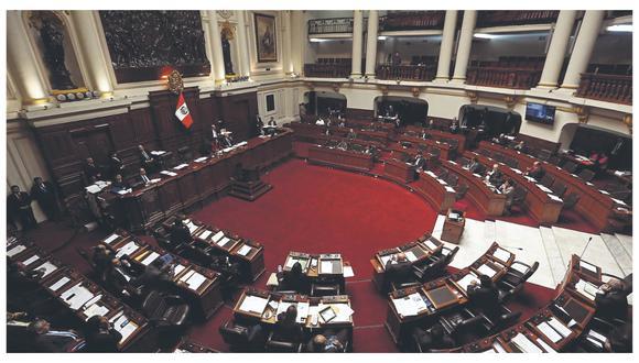 El actual Congreso entró en funciones en marzo, elegido en enero luego de la disolución del Parlamento anterior en el 2019.