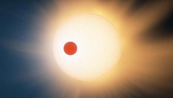 Recreación del Neptuno caliente. (Foto: THE UNIVERSITY OF KANSAS)
