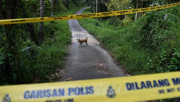 Policía de Malasia encuentra cadáver de menor. (Foto: AFP)