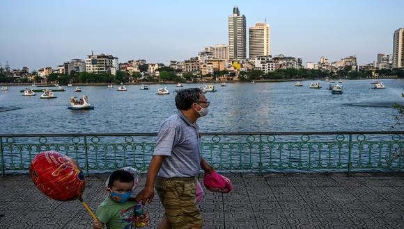 Vietnam puso énfasis en realizar pruebas de despistaje y aislar a los casos sospechosos, además de los infectados. / Foto: AFP.