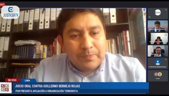 Luis Trinidad Abarca también recordó que en el 2006 fue investigado por el presunto delito de terrorismo, pero el caso fue archivado en marzo del 2009. (Foto: captura de video)