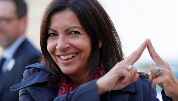 Anne Hidalgo, fue reelegida alcaldesa de París en la segunda vuelta de las elecciones municipales del pasado 28 de junio. (Foto: Reuters)